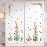 Wall Decals: Floral Wall Decals H0198