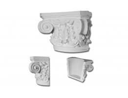 Half Column Capital 12 inch (One Half Included)