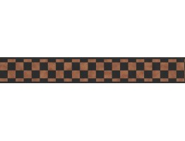 Prepasted Wallpaper Borders - Checkered Wall Paper Border 8717 HF