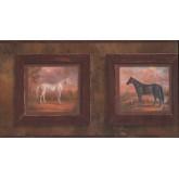 Horses Wallpaper Borders: Horses Wallpaper Border 9299 HG