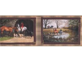 Horses Wallpaper Border 6606 HJ