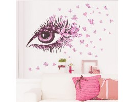 Girl Eye Wall Decals HM0 066