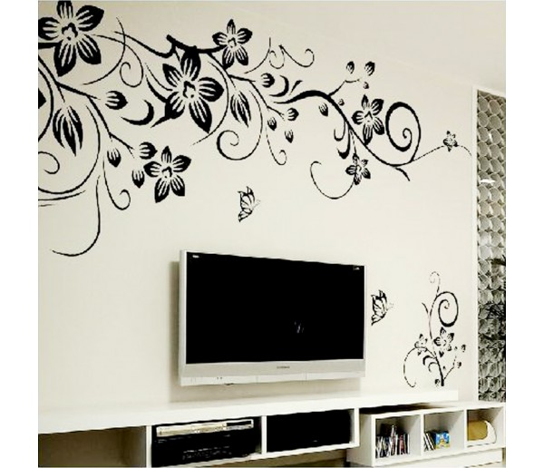 Wall Decals Flower Wall Decals HM0027
