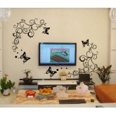 Wall Decals: Butterfly Wall Decals HM0051