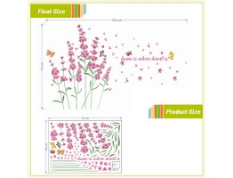 Floral Wall Decals HM0052