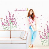 Wall Decals: Floral Wall Decals HM0052