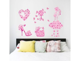 Girl Wall Decals HM0077