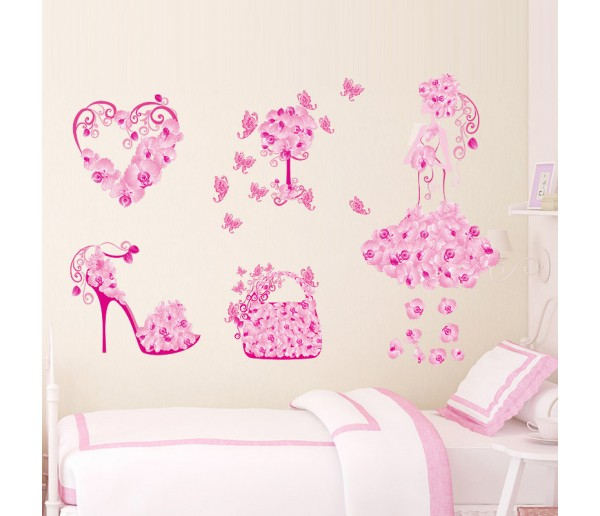Wall Decals Girl Wall Decals HM0077