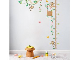 Kids Height Chart Wall Decals HM0101