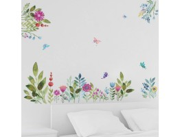 Floral Wall Decals HM0116