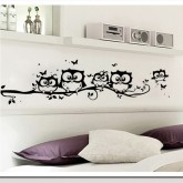 Wall Decals: Tree Owl Wall Decals HM0117