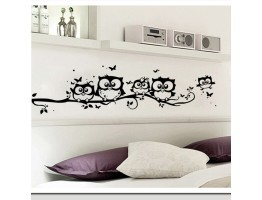 Tree Owl Wall Decals HM0117