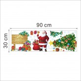 Wall Decals Christmas Santa Wall Decals HM01309