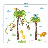Wall Decals: Animals Wall Decals HM0134