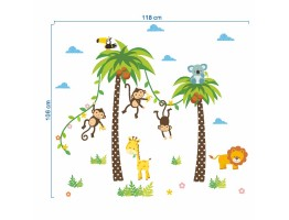 Animals Wall Decals HM0134