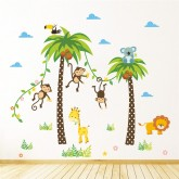 Wall Decals Animals Wall Decals HM0134