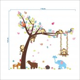 Wall Decals: Animals Wall Decals HM0139