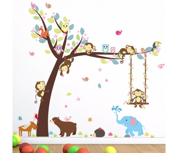 Wall Decals Animals Wall Decals HM0139