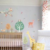 Wall Decals: Jungle Animals Wall Decals HM0144