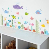 Wall Decals: Sea World Wall Decals HM0145