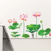Wall Decals: Lotus Flower Wall Decals HM0148