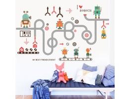 Kids Robots Wall Decals HM0152
