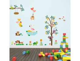Tree and Animals Wall Decals HM0176