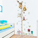 Wall Decals: Cartoon Animals Wall Decals HM0178