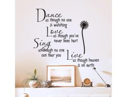Quotes Wall Decals HM02008