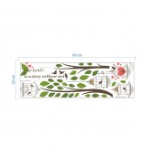 Wall Decals Birds Cage Wall Decals HM0235