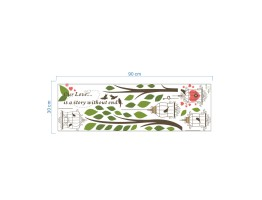 Birds Cage Wall Decals HM0235