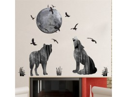 Wolf Wall Decals HM0256