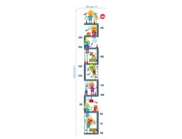 Kids Height Chart Wall Decals HM0264