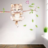 Wall Decals: Cat Wall Decals HM0278