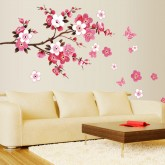 Wall Decals Floral Wall Decals HM0739