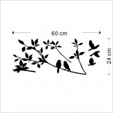 Wall Decals Birds Wall Decals HM08171