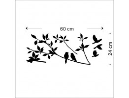 Birds Wall Decals HM08171