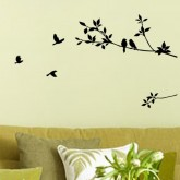 Wall Decals: Birds Wall Decals HM08171