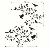 Tree Branch Wall Decals HM08208