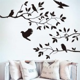 Wall Decals: Tree Branch Wall Decals HM08208