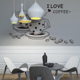 Wall Decals: Kitchen Wall Decals HM08241