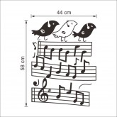 Wall Decals: Music Wall Decals HM08318