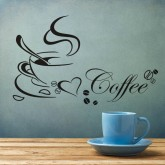 Wall Decals: Coffee Wall Decals HM08347