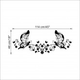 Wall Decals: Butterfly Wall Decals HM08460