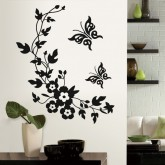 Wall Decals Floral Wall Decals HM08519