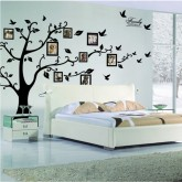 Wall Decals: Photo Frame Tree Wall Decals HM094AB