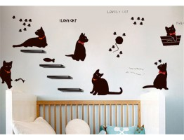 Cat Wall Decals HM0X843