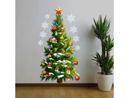 Christmas Tree Wall Decals HM0xmas