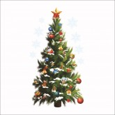 Wall Decals: Christmas Tree Wall Decals HM0xmas