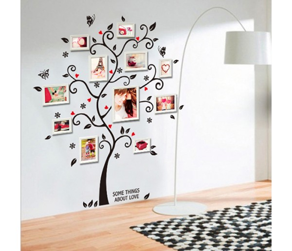 Wall Decals: Photo Frame Tree Wall Decals HM16031